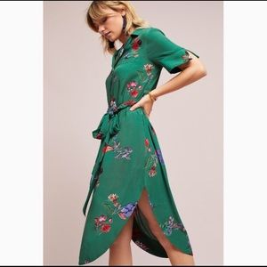 Maeve Floral Shirtdress